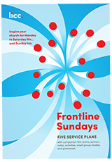 The Front Cover of Frontline Sundays Booklet